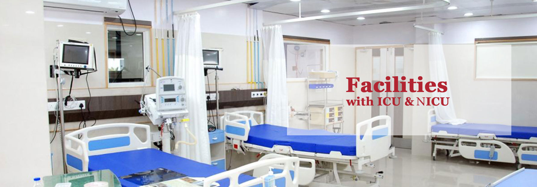 Facilities with ICU & NICU